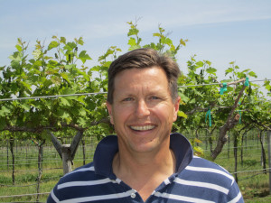 Andrew Meggitt of St. James Winery in St. James. MO