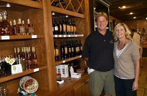 Ted and Dana Huber