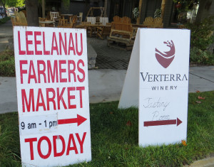 Leelanau County is known for diverse and high quality agricultural production.