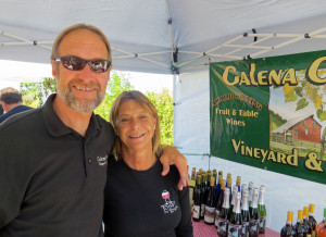 Mike White and Christine Lawlor-White of Galena Cellars Vineyard and Winery