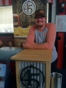 Jay Briggs of 45 North Winery in Leelanau County Michigan