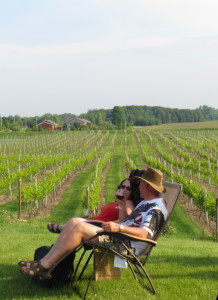 Parallel 44 Winery in Kewaunee, Wisconsin during summer 2013