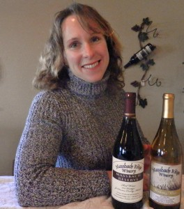 Peggy Harmston of Massbach Ridge Winery in