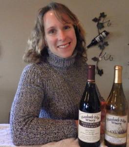 Peggy Harmston of Massbach Ridge Winery in