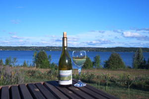 Bel Lago Winery on Lake Leelanau in Michigan