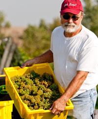 John Larson of Snus Hill Winery in