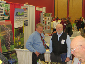 John Marshall of Great River Vineyard and Rick Dale of Rick Dale Consulting