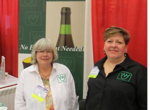 Susan Jelly and Karen Fischer-Kordela of Walter H. Jelly, Ltd.