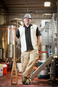 Steve Parkes, Brewmaster. Courtesy Drop-In Brewing Company