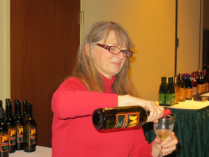 Barb Bush of Kite Hill Vineyard