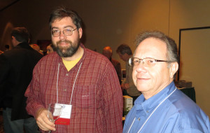 Dan Becker of the University of Kentucky and Tony Dardano of International Label