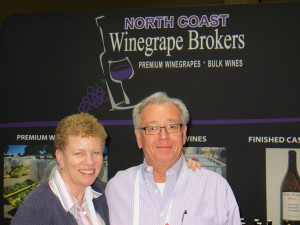 Shannon and Rick Gunier of North Coast Winegrape brokers