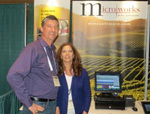 Scott and Jill Meloney of Microworks Wine Software
