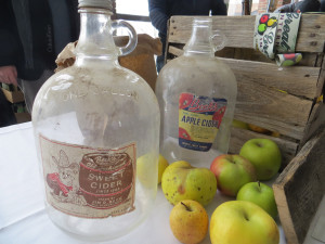 Old cider jugs from Michigan's Beck's which is now called Uncle John's