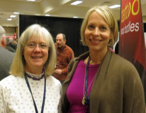 Cathy Kruggel and Jayne Wagner of Hickory Creek Winery