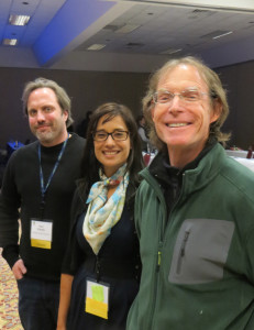 Sean O'Keefe, Lise Asimont and Charlie Edson at the 2014 Michigan WIne Conference