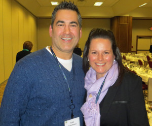 Todd Oosterhouse and Heather Fortin of Bonobo Winery