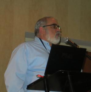 Richard Rubin of MI Wine Barrel, sponsor of the Michigan Conference banquet.