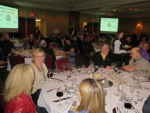 The Michigan Wine Conference 2014 banquet