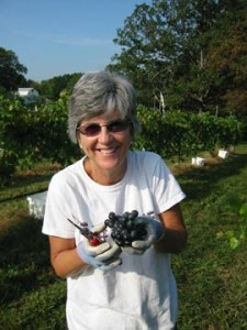 Cyndy Keesee, owner, Edg-Clif Farms