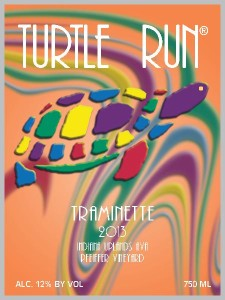 Turtle Run Winery in Corydon Indiana makes a Traminette wine with 1% residual sugar by controlling fermentation.