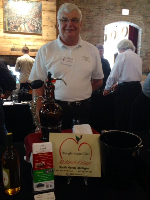 Bruce McIntosh from McIntosh Wine Cellars in South Haven