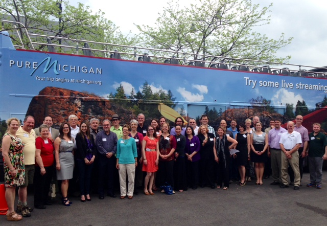 Michigan winemakers and some of their Chicago supporters gathered at City Winery Chicago