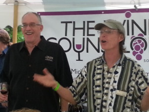 Michael Schafer and Charlie Edson of Bel Lago Winery