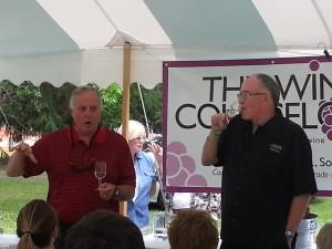 Paul Hamelin of Verterra Winery (left)