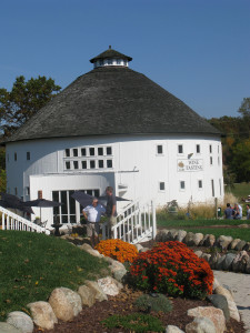 Round Barn Winery in Michigan may be the only winery in the U.S. that also has a brewery and a distillery.