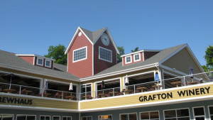 Grafton Winery is near the confluence of the Illinios and  Mississippi River wher