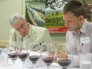 Greg Halberg, Maneo Wine Imports and Etienne Ouellet of Centre De Developpment Bioalimentaire du Quebec