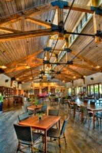 Chandler Hill's restaurant and tasting area (courtesy winery)