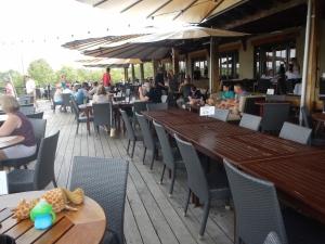 Chandler Hill's restaurant deck