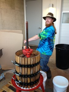 Three Fires Winemaker Nathaniel Rose