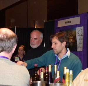 Lou Quast and Martin Polignioli of of St. Croix  of St. Croix Vineyards