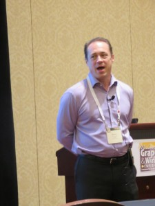 Marty Paradise of Paradise Consulting and Coaching at the 2015 Midwest Grape and Wine Conference
