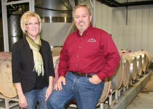 Loretta and Mick McDowell of Miletta Vista Winery