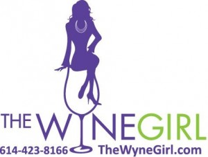 The Wyne Girl Round Label