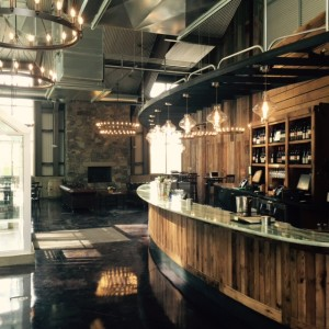 The new tasting room at Dablon Vineyards and Winery