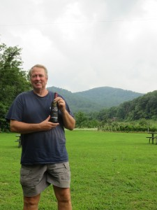Scott Eliff, owner of Du Card Winery.
