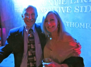 Dr. Thomas Cottrell, emeritus faculty, University of Kentucky and Pam Leet of Old 502 Winery