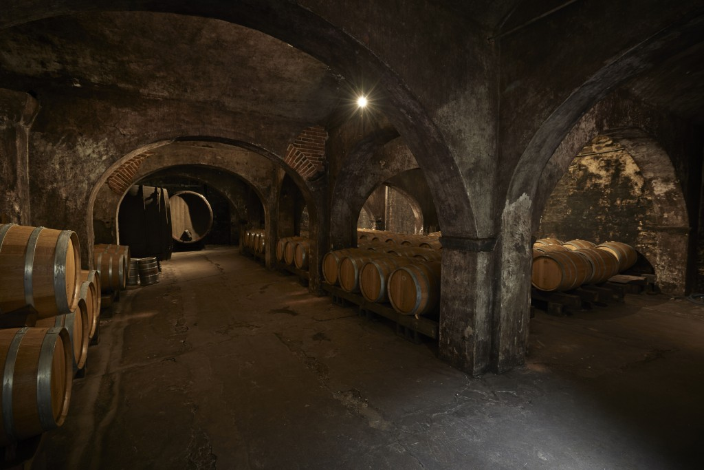 The so called 'Office Cellar' at Stone Hill Winery. Photo credit: Stone Hill Winery