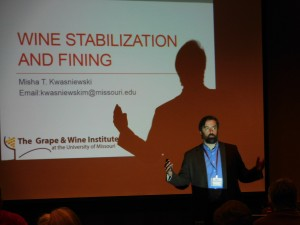 2016 Show Me Grape and Wine Conference Day One