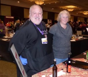 Chad Stoltenberg at the 2016 Cold Climate Wine Conference in