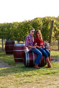 Aric and Aftan Koenen of Hinterland Vineyards